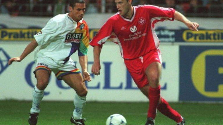 В отбора тогава играе и българинът Мариян Христов. Взет през лятото на 1997-а за 400 хиляди евро от Левски, бившият национал вкарва пет гола и дава две асистенции в първия сезон за Кайзерслаутерн, който се превръща и в шампионски.