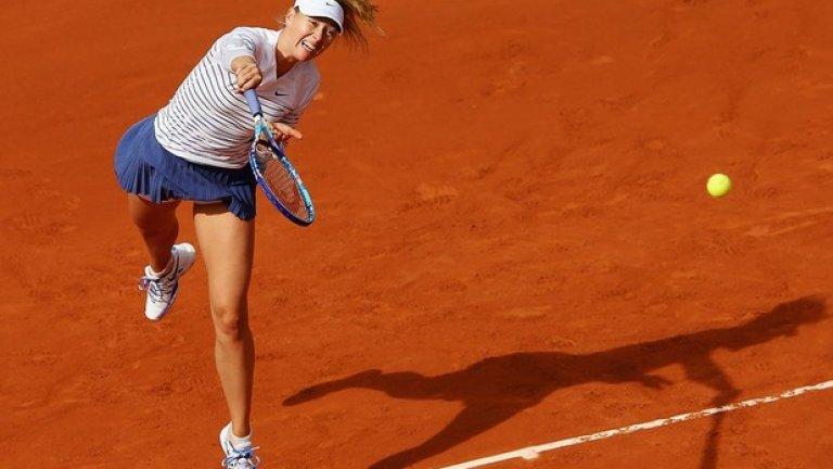 3. Мария Шарапова – осми път в топ 4, девети – в топ 5 и десети – в топ 10, Мария отдавна вече не е просто тенисистка, а цял рекламен бранд.