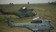 В преследването на атентаторите участват хеликоптери