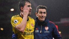 Гари О`Дрискол работи в Арсенал вече повече от 10 години.