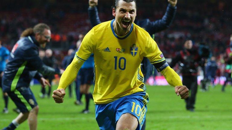 """""""Завръщането на Бог"""": Златан отново ще играе за Швеция"""