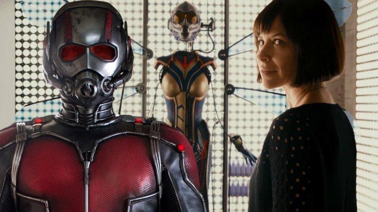 """5. Ant-Man and the Wasp (6 юли)  Първият Ant-Man е един от по-слабо представилите се филми в бокс-офиса (""""едва"""" 519 милиона), но пак постигна отличен резултат като за първи филм с по-непопулярен главен герой. В продължението Пол Ръд се завръща в ролята на мъжа, който може да се смалява/уголемява посредством специален костюм. Повече внимание ще бъде отделено и на прекрасната Еванджелин Лили (Lost), чиято героиня също ще се сдобие с подобен костюм. В допълнение имаме ветераните Майкъл Дъглас и Мишел Пфайфър. Надеждите ни са за един малко по-смел филм, извън обичайното за Marvel, но едва ли..."""