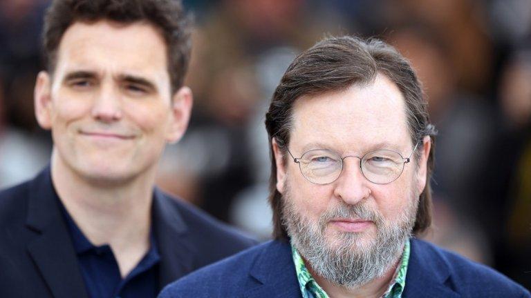 Филмът е последното творение на провокативния режисьор Ларс фон Триер (вдясно), който с него се завърна на Кан след седемгодишно отсъствие заради скандално интервю през 2011-а.