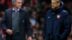 Челси и Арсенал завършиха 0:0 миналата седмица, но в изказванията между треньорите им резултатът постоянно набъбва