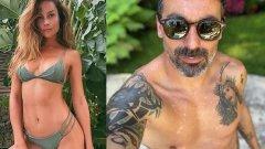 Лавеци вече е сгоден за Наталия Борхес, която преди е била във връзка с негов близък приятел