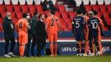 Шок! Спряха мач от Шампионската лига заради расизъм от съдия (видео)