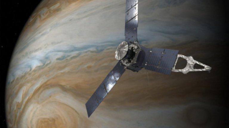 НАСА видя Юпитер отблизо