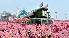 На 15 април Северна Корея демонстрира новите си ракети на показен военен парад. Ден по-късно страната изтреля една от тях, но опитът е претърпял неуспех.
