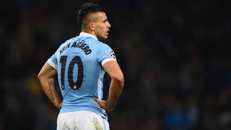 Серхио Агуеро, Манчестър Сити 240 000 лири на седмица, договор за 5 години, подписан през 2014