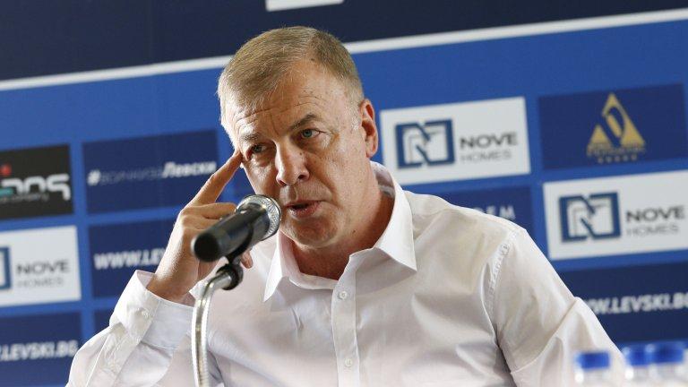 Наско Сираков: В момента не мога да обещая и 1000 лева заплата