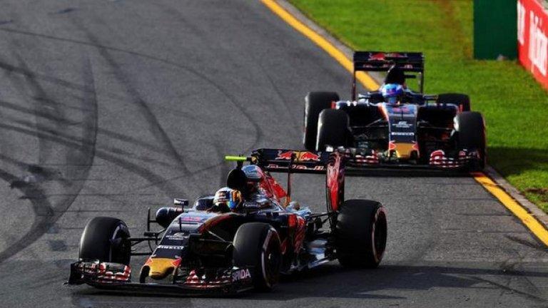 Двамата младоци на Toro Rosso се състезават за по 650 000 долара на година