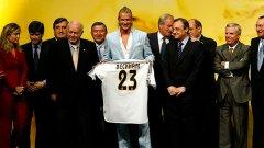 Дейвид Бекъм беше суперзвезда още преди Реал Мадрид
