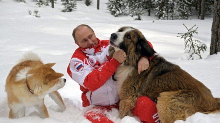 Позицията на Путин в Сирия и Украйна може и да е критикувана от Запада, но руският президент е харесван и дори обожаван от много хора у дома...