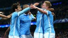 Манчестър Сити е на полуфинал в Шампионската лига за първи път в историята си