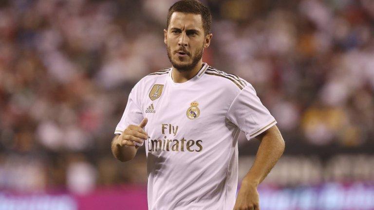 Еден Азар пристигна напълнял в Реал и все още не може да намери себе си, след като страда и от контузии