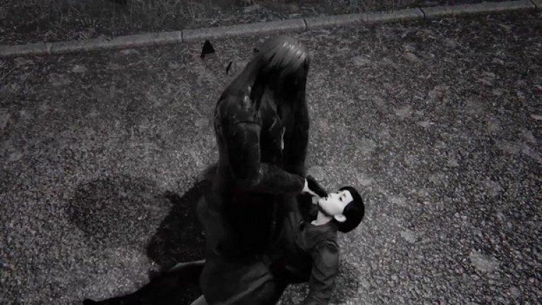 Hatred  Още рекламната кампания за играта предизвика доста полемика, тъй като представи като главен герой маниакален убиец, който избива невинни хора без конкретна причина, докато те молят за милост. Шок факторът даде достатъчно силен начален старт на Hatred, но тя беше приета зле след излизането си през юни тази година - не толкова заради насилието, колкото просто защото се оказа зле изработена игра без никакво разнообразие в геймплея.