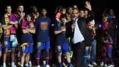 Тежък сезон очаква Пеп Гуардиола и звездите на Барселона