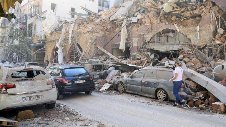 """Бейрут след експлозията: """"Това е отвъд националната катастрофа"""""""