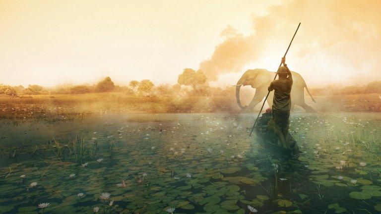 """""""Into the Okavango"""" е документален филм на National Geographic, в който се изследва от какво се получава недостигът на вода в делтата на река Окаванго. Филмът е заснет предимно в Ангола и Ботсвана"""