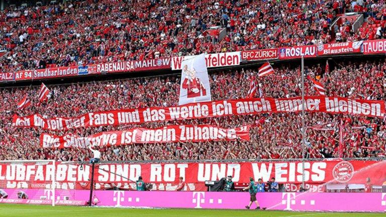 3. Байерн Мюнхен - 75 000 средно на мач