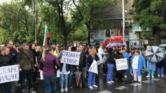 Протестът на лекарите от педиатричната болница е трети пореден