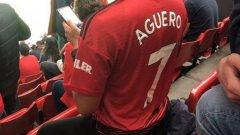 Не само Агуеро, но и с №7!