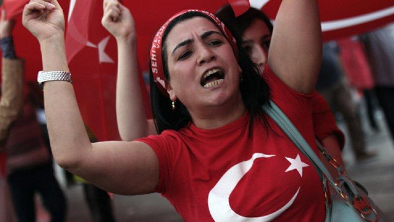 Експлозиите са избухнали малко преди началото на мирно шествие в Анкара