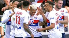 Мариано Диас вече има 10 гола за Лион в Лига 1 от началото на сезона