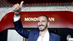 Бонучи игра един сезон в Милан, след което се завърна в Юве.