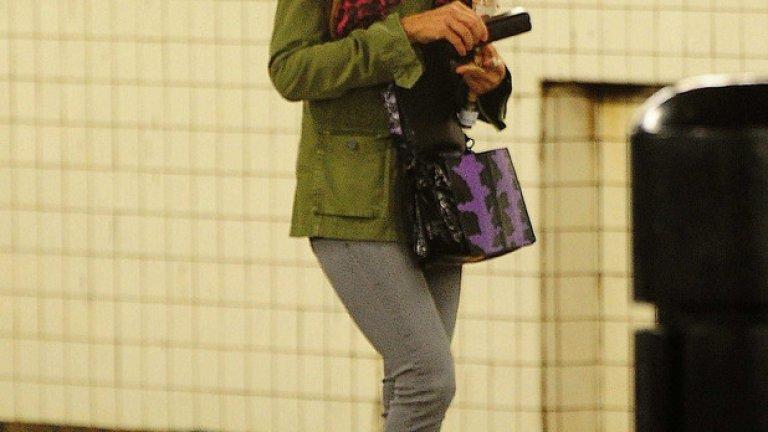 Сара Джесика Паркър с невероятно високи токчета