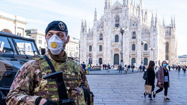 Италия е най-голямото огнище на коронавирус в Европа, като над 800 души са заразени, а смъртните случаи вече са 21.