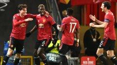 Брутален Юнайтед съсипа Рома след почивката