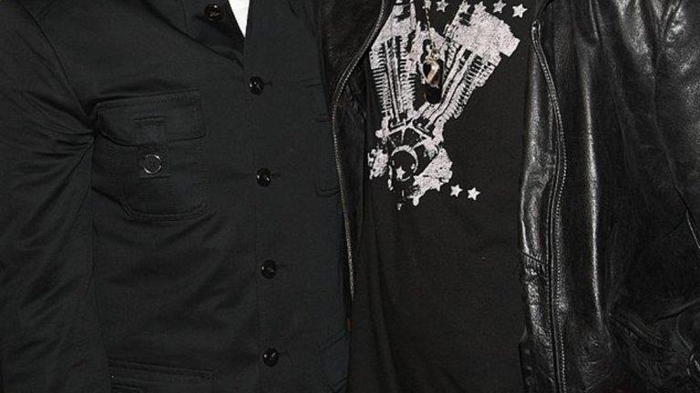 Кори Фелдман и Кори Хаим през 2007 г. Хаим прочина от пневмония през 2010 г.
