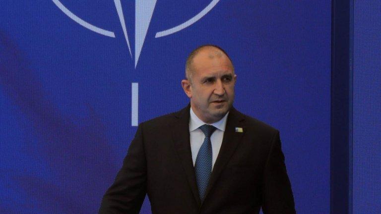 Радев предлага на НАТО съвместно разработване на технологии