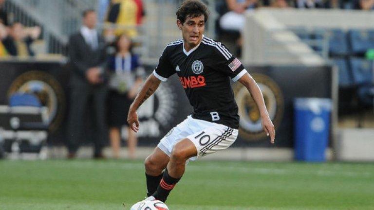 Кристиан Майдана, Филаделфия Юниън Майдана записа 15 голови паса тази година и един от най-добрите полузащитници в MLS.