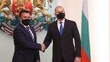 Македонският премиер се срещна с президента и служебния премиер Стефан Янев