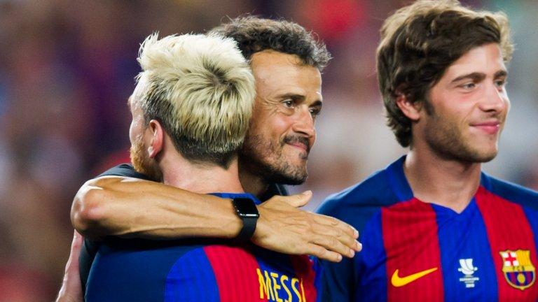 Меси посочи двамата най-добри треньори в кариерата си