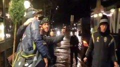 Полиция спря Златан... за селфи