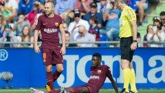 За това загатна самият футболист, който обеща да се върне след два месеца