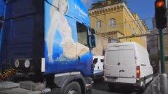 Ватиканът не пусна ТИР с голи жени