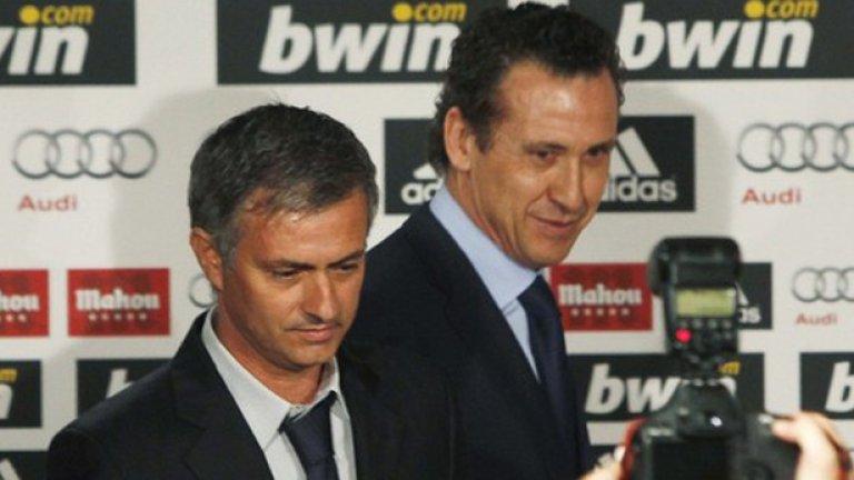 Проблемът с привличането на третия чист нападател в Реал може да скара Моуриньо и Валдано