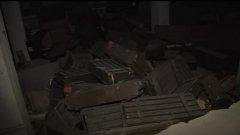 """Репортаж на """"Труд"""" от Алепо показа наличието на боеприпаси, произведени в България, в един от складовете на бунтовниците"""