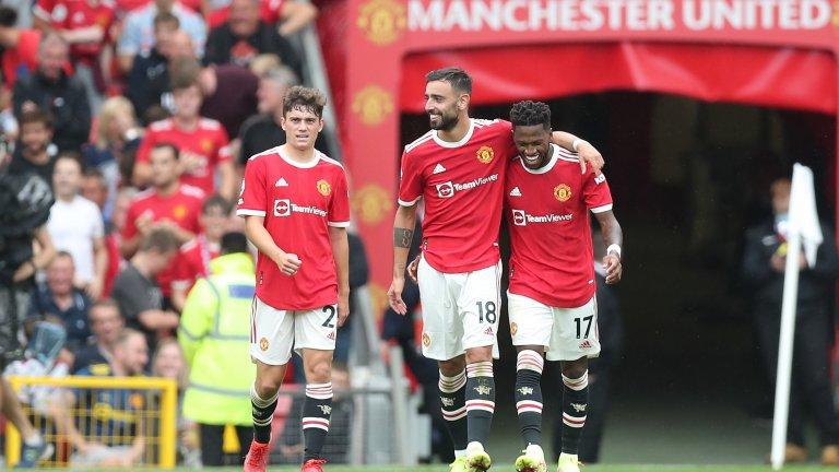 Впечатляващ Манчестър Юнайтед унижи Лийдс