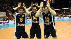 Волейболистите на Испания бяха щастливи от първото си класиране в топ 12 на света
