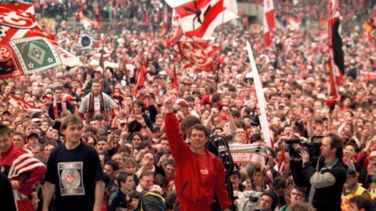 Кайзерслаутерн е първият и единствен отбор, който спечели Бундеслигата след промоция.