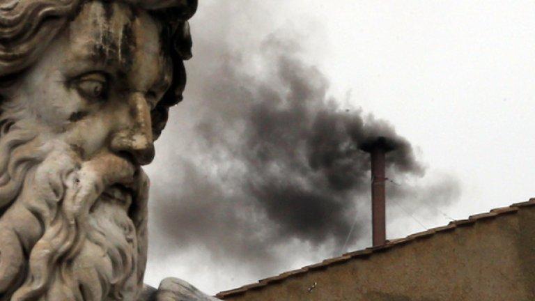 Бял дим ще извести избора на нов папа