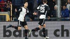 Роналдо направи разликата с гола си в края на първото полувреме
