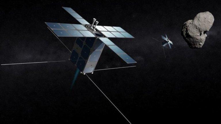 Първият ресурс, който ще може да се добива от астероидите, ще бъде ледът, с който ще се задоволи нуждата от вода за космическата индустрия